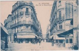 34 - Béziers - Rue De La République - Editeur: Séquier N° 55 - Beziers