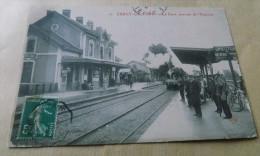 Cercy-la-Tour - La Gare - Arrivée De L'Express - Altri Comuni