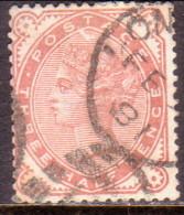 GREAT BRITAIN 1880 SG #167 1½d Used CV £60 - 1840-1901 (Victoria)