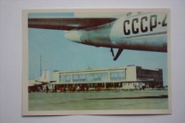 Ukraine. Odessa Airport. Aéroport - Avion - Aéroplane. 1965 - Aerodrome