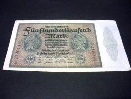 ALLEMAGNE 500000 Mark 01/05/1923,pick N° 88 B,GERMANY - [ 3] 1918-1933 : République De Weimar