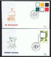 Belgie OCB FDC 2452 / 2453 - 1991-00