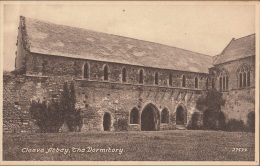 C1900 CLEEVE ABBEY -  THE DORMITORY - England