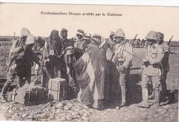 SYRIE : Contrebandiers Druzes Arrêtés Par La Colonne (carte écrite De Damas 1927) - Polizei - Gendarmerie