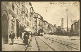 GENOVA Rare Via Carlo Alberto (Cali) - Genova (Genoa)