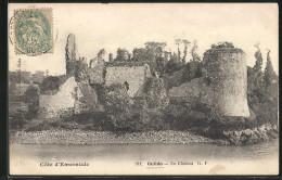 CPA Le Guildo, Le Château, Les Ruines - France