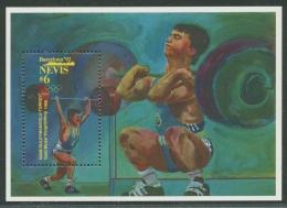 Nevis 1992 Olympiade Barcelona Block 44 Postfrisch (C21972) - Briefmarken