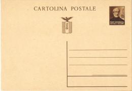 05) R.S.I. INTERO POSTALE MAZZINI DA 30 C. 1944 NUOVO - 4. 1944-45 Repubblica Sociale