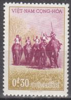 Viet Nam--south   Scott No  64    Unused Hinged   Year  1957 - Vietnam