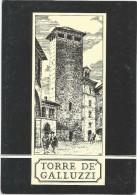 O306 Bologna - Ristorante Torre De' Galluzzi - Illustrazione Illustration / Non Viaggiata - Bologna
