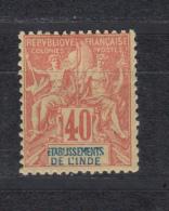 1892   YVERT  Nº  10   / * / - India (1892-1954)