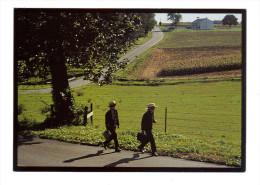 Etats Unis: Lancaster, Amish Seasons, Two Amish Schoolboys (15-3855) - Lancaster