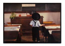 Etats Unis: Lancaster, Amish Seasons, A Young Scholar Ponders The Halls Of Amish Academe, Ecole (15-3856) - Lancaster