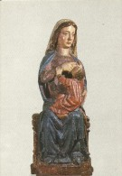 Z199 - POSTAL - VIRGEN DE LA LECHE - TALLA POLICROMADA - MUSEU DE L´EMPORDA - Esculturas
