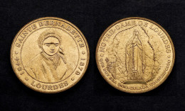 Jeton Touristique Sainte Bernadette 1844-1879. Lourdes. Monnaie De Paris - Monnaie De Paris