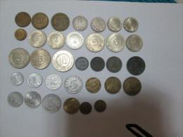 """YUGOSLAVIA Large Lot Of 34 Coins FAO 1 2 5 10 20 50 Dinars And Para """"2"""" - Yugoslavia"""