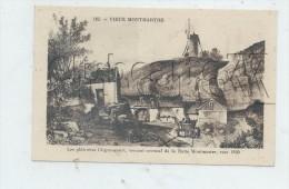 Paris 18ème Arr (75) : L'entrée Des Carrières De La Butte De Montmartre Versant Oriental Illusration De 1830 (animé). - Arrondissement: 18