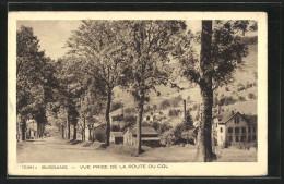 CPA Bussang, Vue Prise De La Route Du Col - Col De Bussang