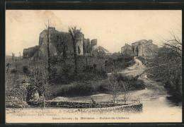 CPA Herisson, Ruines Du Chateau - Francia