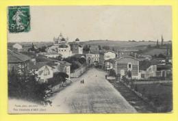 CPA 01 ARS Vue Générale Animée 1913 ( Vernu Photo ) - Ars-sur-Formans