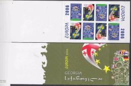 Europa Cept 2006 Georgia Booklet ** Mnh (F3115) - 2006