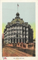 Post Office - New York - Publication By The Ullman Manufacturing Co. - Carte Non Circulée - Autres Monuments, édifices