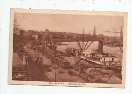 G-I-E , Bateau , Commerce , 44 , NANTES , Panorama Du Port , Vierge , Ed : Nozais 64 - Commerce