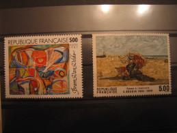 YT **   2473 Et 2474    SERIE ARTISTIQUE    NEUFS ET SANS CHARNIERES - France