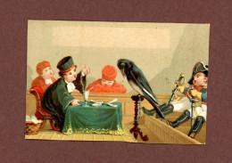 Chromo Lith. Testu & Massin TM32-71, Justice, Tribunal,  Avocat, Corbeau, Gendarme, Similaire ABM SIT-4 - Autres