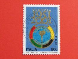ITALIA USATI 2001 - 50° PANATHLON INTERNATIONAL - SASSONE 2551 - RIF. G 1895 LUSSO - 6. 1946-.. Repubblica