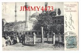 CPA POST CARD - CONTANTINOPLE ( ISTANBUL ) Turquie - Colonne Serpentine - Alt Meidan 1908  - Scans Recto-Verso - Turchia
