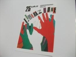 TRIESTE 25 APRILE 1988 ANNIVERSARIO DELLA LIBERAZIONE    ILLUSTRATORE PIERINA RIMBALDO - Trieste