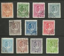 Montenegro - 1913 Nicholas I P/set Of 11 CTO   Sc 99 & 101-10 - Montenegro