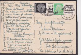 E2 /   Deutsches Reich Zusammendruck Brief / Unterstützt Die Volkswohlfahrt - Zusammendrucke