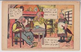 """J. P. GOD : RETOUR DE LA VILLE - """"SOUVENIR DE SON PATRON"""" - 1934 - 2 SCANS - - Autres Illustrateurs"""