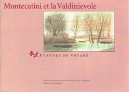 Ancien Guide (Carnet De Voyage)  Montecatini Et La Valdinievole (vers 1995) 24 Pages - Dépliants Touristiques