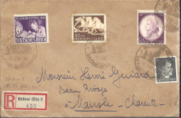 ALLEMAGNE -- Enveloppe -  R 439 Kolmar (Els) 2 Por MAUSLE ( Charente ) FRANCE -- Geöffnet - Non Classés