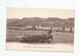 G-I-E , Bateaux , Commerce , 83 , TOULON , Vue Prise Du 1 Er Rang , Voyagée 1912 - Commerce