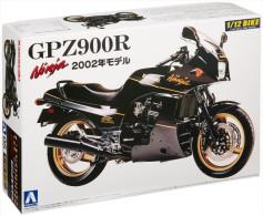Kawasaki GPZ900R Ninja Model 2002 1/12 ( Aoshima ) - Motorcycles