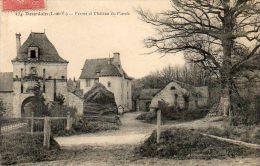 CPA - DOURDAIN (35) - Aspect De La Ferme Et Du Château Du Plessis En 1922 - Other Municipalities