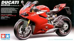 Ducati 1199 Panigale S 1/12 ( Tamiya ) - Motorcycles