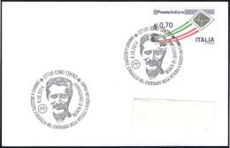 ROWING - ITALIA COMO 2014 - REGATA DI CANOTTAGGIO - OMAGGIO A GIUSEPPE SINIGAGLIA - SMALL SIZE CARD - Canottaggio