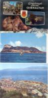 GIBRALTAR 3 CPSM AÑO 1986 RARES - Gibraltar