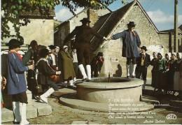 CP NEUVE - EN BERRY - LA SABOTEE SANCERROISE N° 7 - Costumes