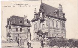 Cpa-14-villers Sur Mer--animée-villas  L'horizon, Les Coralis-edi Gremillet N°44 - Villers Sur Mer