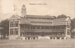 Singapour  :   Singapore Cricket Club Réf 336 - Singapour