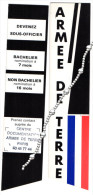 Marque Pages Armée De Terre - Marque-Pages