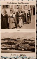 ! Kleinformatige Ansichtskarte Weiler Im Allgäu, Trachten, 1935 - Costumi