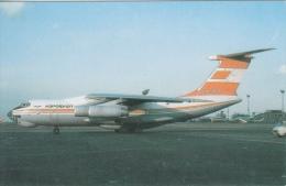 Vliegtuig  Aeroflot  Polar   IL-76TD In Praag          Nr 5768