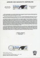 TERRES AUSTRALES 133 DOCUMENTS DES POSTES 1983/1994 DU 101/193A+PA 79/133 COMPLET - Terres Australes Et Antarctiques Françaises (TAAF)